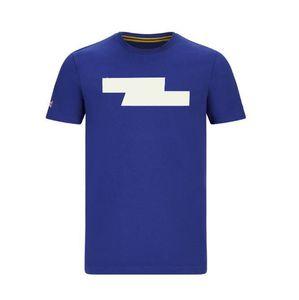 Patlayıcı Formula Bir Yarış Takım Elbise Kısa kollu T-shirt 2020 Yuvarlak Boyun Rahat T-Shirt Fabrika Takımı Sürüm Yarış Takım Kısa Kollu Polyes