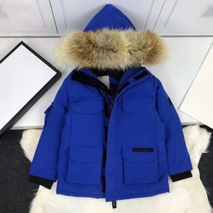 2020 new Children Down Coat Winter Teenage Baby Boys Girls Coats Thicken Warm Long Jackets Toddler Kids Outerwear