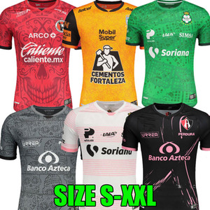 2021 2020 Liga MX Club Tijuana Santos Laguna Pachuca Atlas Futebol Jersey 20 21 O dia do Dé Día de Muertos Mexican Team Camisas