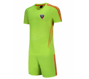 20 21 New DC United Football Jersey Kids Soccer Training Set Soccer Pant Adult Outdoor Sportswear Summer Suits