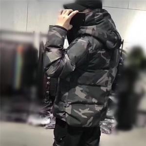 Top Qualität Männer Parke Winterjacke Daunenjacke Winter Hoodie Tick Mantel Gehobene Mode Beiläufige Warme Wasserdichte Mann Daunenmantel