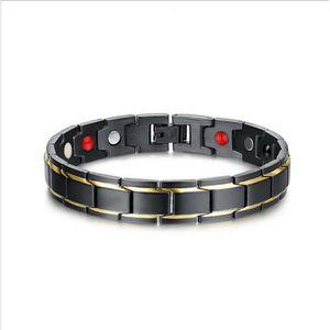 2020 Neue Ankunft fest therapeutisch Energy Healing Armband Edelstahl-magnetische Therapie-Armband
