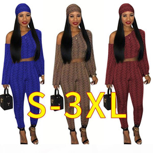Three Piece Set Women Head Scarf+Crop Tops+Bodycon Pant Sweat Suits Summer Outfits 3 Piece Paisley Printed Tracksuit Free dropshipping