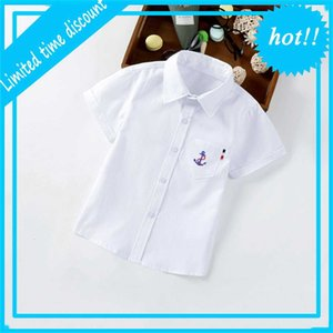 Some Kids Shorts Mouwen Shirts Effects Color Clothing Young Summer Shirt Tops Teas Children Cotton Blouses