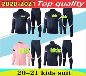 2020 Tottenham Kinder Fußballjacke Trainingsanzug 20/21 Lucas Kane lange Hülse Sportkleidung Sohn Dele Fußballjacke. Kinder sportsw