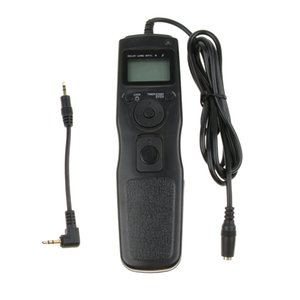 DISPLAY LCD Shutter Release Timer Wired Remote