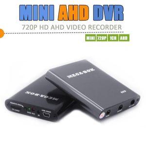 Kits Mega-Box 1ch Mini AHD Grabador DVR HD 720p Soporte 128GB Tarjeta SD Tiempo real Tiempo real CCTV XBOX Video de video Detección de movimiento