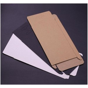 300pcs Universal Mobile Phone Case Package Paper Kraft Brown Retail Packaging Box For Iphone 7sp 6sp 8sp S jllOTE lajiaoyard