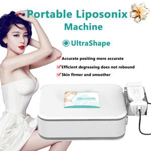 Rimozione di vendita superiore portatile Liposonix macchina Liposonic dimagrante Body Contouring HIFU Lipo Fat Burning Liposonix cellulite Spa Usa periferica