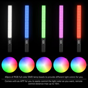 YONGNUO YN360 Pro Photographic Lighting Pro LED Video Lamps Studio Photo Selfie Light 5500K Temperature RGB Full Color Lights