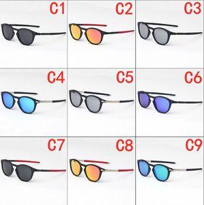 Óculos de sol de moda de alta qualidade lente polarizada óculos de sol óculos para mulheres óculos moldura metálica 13 cor 9439