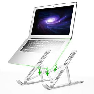 Dobrável Laptop Desk Stand Holder portátil Desktop 6 Angles ajustável Tablet Livro carrinho de exposição