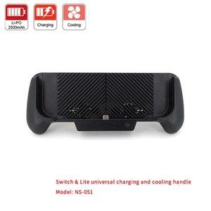Cargador portátil Cooling Stand Pulgar Case Fan Caps 3D empuñadura para el interruptor NS Lite consola