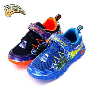 Shoes Children Kids Dinoskulls Boys Sport Mesh Breathable Brand 3D Dinosaurs Sneakers size 27-34