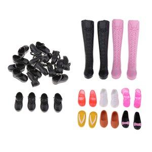 18 пар Dolls загрузки высоких каблуков обуви для 1/6 Блайт РДЦ