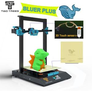 Stampante due alberi più blu PLUS 3D 300 * 300 * 400 millimetri Dimensioni silenzioso stampa MKS Consiglio BMG estrusore Livello automatico PEI Foglio TMC2209