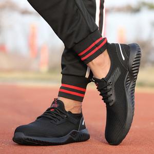 Männer und toe Frauenstahl Schuhe sind einfach und bequem, rutschfeste Sicherheitsschuhe, sind wasserdichte Schuhe der neuen Arbeitsschuhe im Jahr 2020