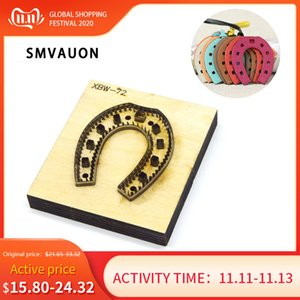 Wooden Cutting Dies For Scrapbooking Key Ring Diy Fun Pendant Leather Mold Knife Hand Punch Tool Stamps And Dies SMVAUON Q1114