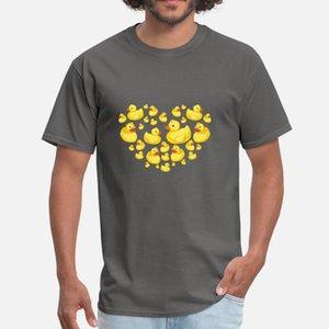 Gummienten-Herz-Bonbon-Kind-Familien Entlein Cute Bird-Geschenk-Idee der Mutter Tages Badewanne SweatshirtHoodie Männer T-Shirt