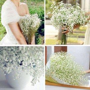 (60 teile / los) Neue Ankunftsgewebe Gypsophila Baby Atem Künstliche Seide Blumen für Wohnleben Hochzeitsdekoration