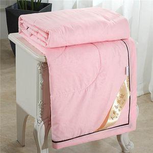 Accueil Sleeper Quilt Blanket bébé soie Couvre-lit Couvre-lit Size Quenn / King Consolateur Couverture
