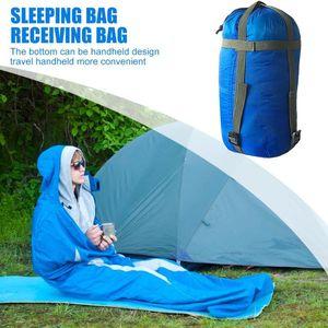Outdoor Camping Hiking Sleeping Bag Compression Packs Stuff Sack Portable Travel Leisure Hammock Storage Bag Camping Equipment