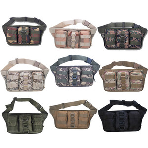 Outdoor Sports Hiking Versipack Running Waistpack Tactical Camouflage Waist Bag Fanny Pack P11-401