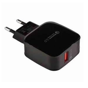 Eu Us Uk Plug Usbfast Charger Portable 18w Phone Adapter Smart Charging Head For Xiaomi Quick Charge