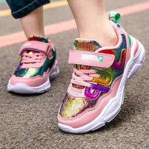 Alta qualidade skhek meninos sapatos meninas moda casual crianças sapatos para menino esporte corrida sapatos criança chaussure enfant primavera sneakers