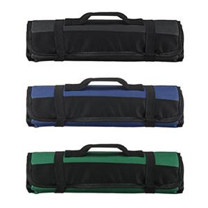 Многофункциональный инструмент Подъемные сумки для хранения в Knifts Praction Praction Royaling Blackles Oxford Canvas Chisel Roll Bags для инструментального прибора Чехол P20