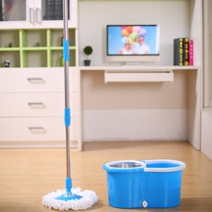 The Mop Has A Tug Bucket, A Set Of Hands Free Washing, Spin Drying, Dry Wet Dual-Use Gift.