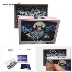 Momemo мой сосед Totoro головоломки игрушки 1000 штук головоломки для взрослых мультфильм аниме деревянные головоломки дети образовательные игрушки Y200421