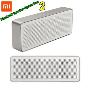 Xiaomi مي بلوتوث المتكلم مربع مربع 2 ستيريو المحمولة بلوتوث 4.2 hd عالية الوضوح جودة الصوت اللعب الموسيقى LJ200911