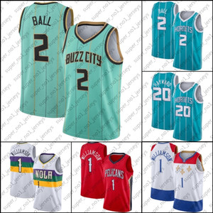 CharlotteHornissenJersey Lamelo Lonzo Ball Jersey Zion 1 Basketball Williamson Trikots New OrleansPelikaneJersey