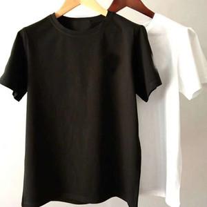 Nueva letra de alta calidad 100% algodón para hombre camisetas Venta caliente Mujer hombre algodón camiseta para hombres camiseta para mujeres masculinas tshirts