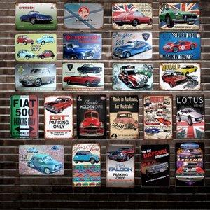 [DecorMan] Austrália França Cartaz De Metal De Cartaz Custom Wall Pinturas de Placa Bar Pub Decoração