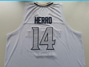 new rare #14 Tyler Herro High School Jersey Whitnall Butler Nunn Kentucky Hero Basketball Jersey or custom any name or number jersey
