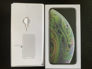 High Quality US EU Version Mobile phone package box for iPhone Xs max Retail packaging with full Accessories