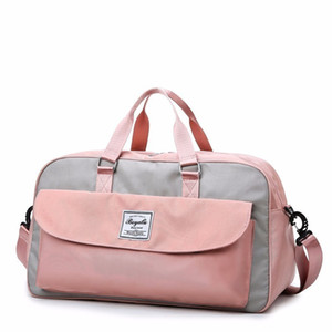 Woman Nylon Travel Organizer Duffle Bag Multi-function Large Capacity Luggage Bag Clothes Bag Malas De Viagem Packing Cubes Vs T200710