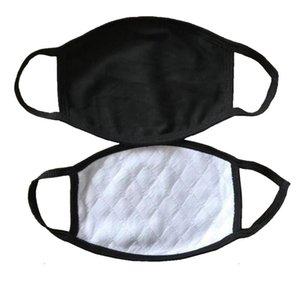 Máscara facial adulto poeira à prova de poeira designer de moda face máscaras homens mulheres clássico preto branco boca máscaras anti dust névoa FaceMask em estoque