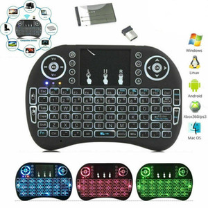 Wireless Mini i8 Keyboard Backlit Backlight Remote Control For Android TV Box 2.4G Air Mouse Keypad With Touchpad Smart TV PC Games