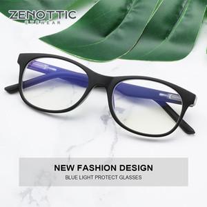 ZENOTTIC Kids Anti Blue Light Glasses Children Gaming Spectacles Frame Boys Girls Blue Light Blocking Optical Myopia Eyewear