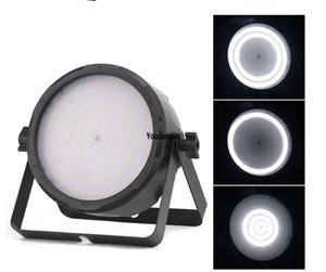 led strobe par light 168x0.5w white mini flat dj club par light for stage decoration
