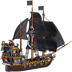 Hotselling ed Pirate Ship Compatible Yongheng Buildingblock Toys Compatible with ed DIY Educating Children Christma Gift