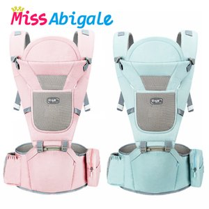 MissAbigale Ergonomic New Born Baby Carrier Infant Kids Backpack Hipseat Sling Front Facing Kangaroo Baby Wrap for Baby Travel 201106