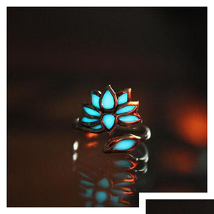Europe And The United States Big Luxury Retro Carved Luminous Ring Maya Mysterious Geometry Adjustable sqcjdH dh_seller2010