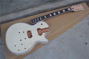 Fabrika Gerçek Pictures itibaren Beden, Gülağacı, teklif özelleştirebilirsiniz Bağlama ile 6 dizeleri Yarı mamul Elektro Gitar