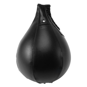 Boîte de poinçonnage de boxe Kit Boule de boxe en forme de poire, aiguille à gaz, pompe et kit de boucle de sécurité pour sandbag