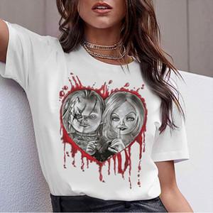 chucky Horror High Quality cool women new t shirt streetwear ulzzang tee shirts t shirt fashion female femme new tshirt top