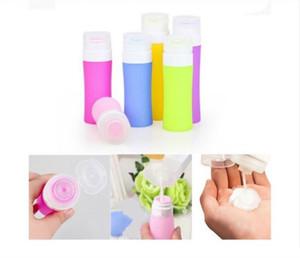 Vendita calda Silicone Rifilabile Mini Viaggiatore Mini Viaggiatore Bottiglia di imballaggio Bottiglia per la bottiglia per lozione Shampoo Bath New100pcs